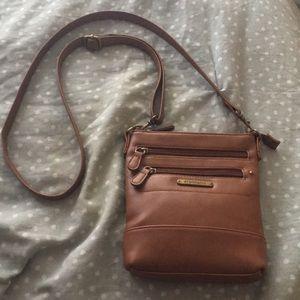 Stone & Co brown crossbody purse